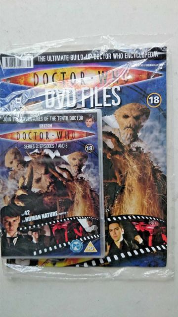 Doctor Who Series 3 Episodes 7 and 8  SEALED With Magazine